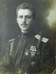 Офицер 96-го Омского пехотного полка, 1914-1916 г.